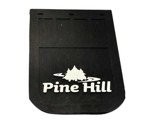 "Pine Hill Mud Flap 12"" x 18"""