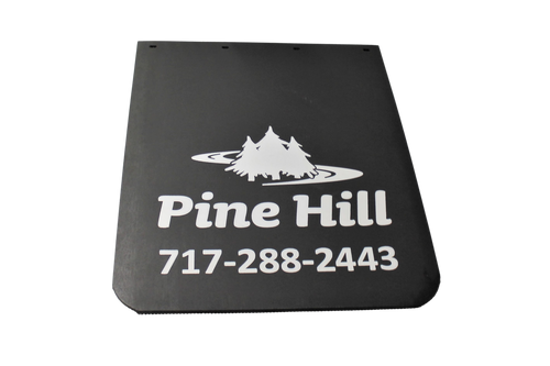 "Pine Hill Extruded Mud Flap 24"" x 30"""