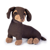 Dora Designs Egbert the Dachshund doorstop