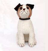 Jackson the Jack Russell doorstop by Dora Designs