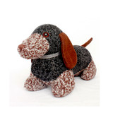 Weenie the Dachshund doorstop