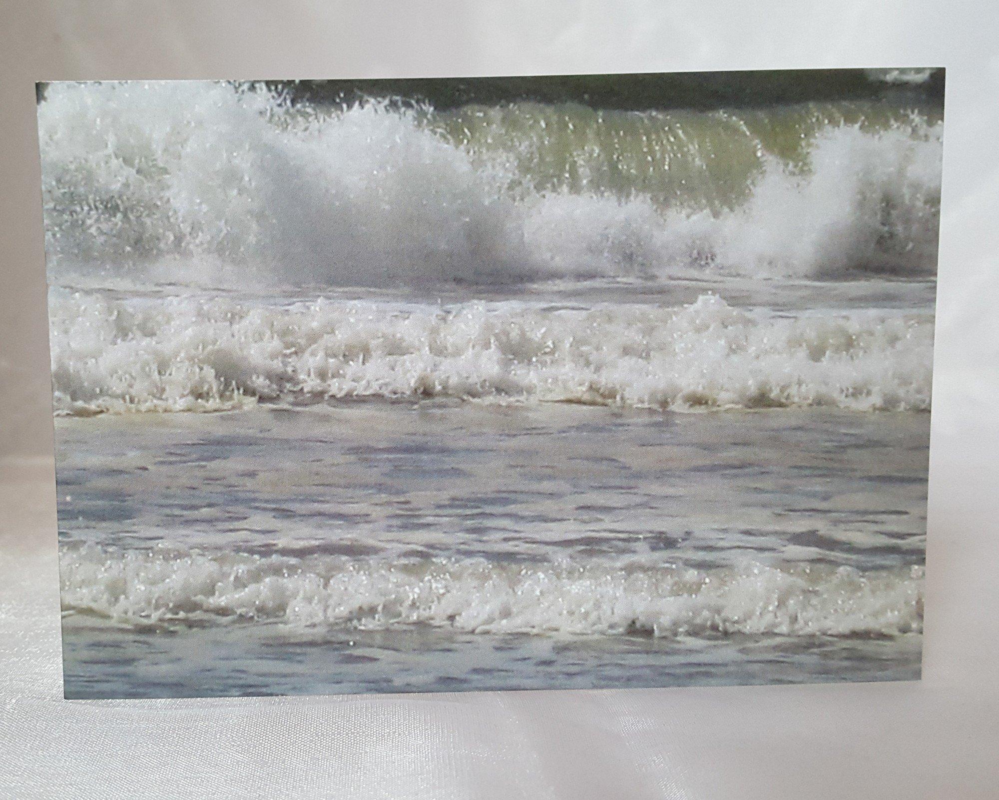 Crashing Waves Greeting Cards