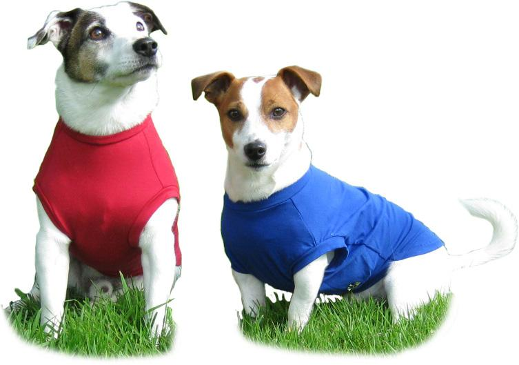 HOTTERdog dog body t-shirt by Equafleece, can be used for allergies, sunburn, to cover post-operative dressings and similar to a Thunder Shirt for anxiety