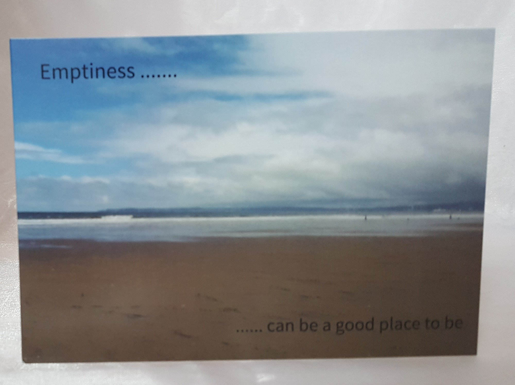 Emptiness Is .. Greeting Cards