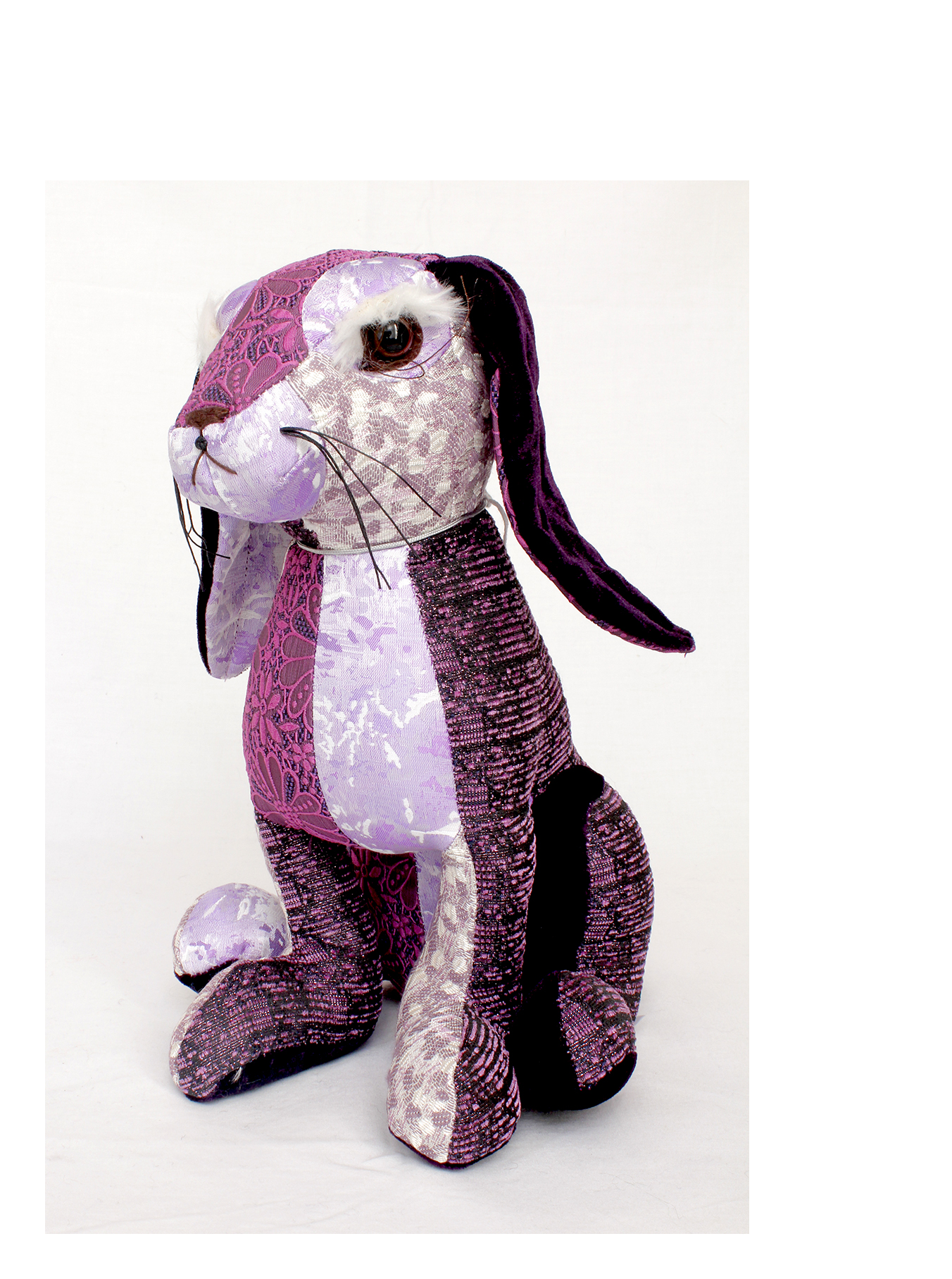 Patchwork hare by dora designs