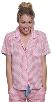 Cyberjammies Womens Olivia Woven Top 3320