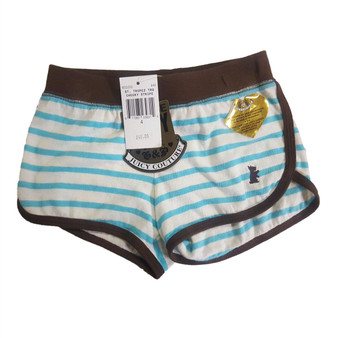 Juicy Couture Girls / Teens St Tropez Turquoise Cheeky Stripe Shorts