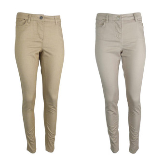 EX M&S Marks And Spencer Cotton Rich Coloured Skinny Fit Jeggings (UK 8-20)