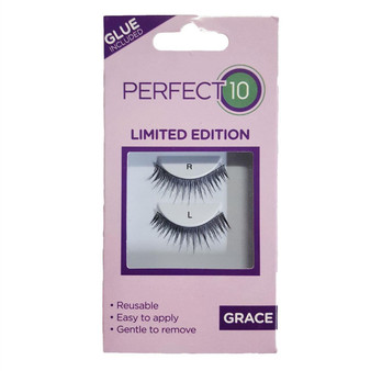 Perfect 10 False Eyelashes - Grace