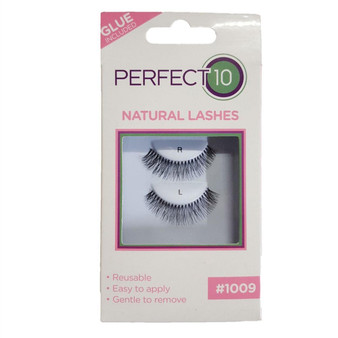 Perfect 10 False Eyelashes - Natural Lash 1009