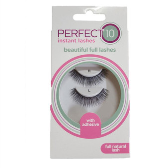 Perfect 10 False Eyelashes - Full Natural Lash