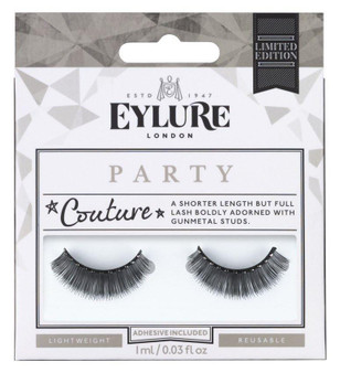 Elyure Party Couture Studded False Strip Eylashes