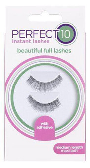 Perfect 10 False Eyelashes - Strip Lash Maxi Medium Length Flare