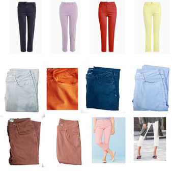 Soft Touch Straight Crop Jeans Women's Cropped Jeans