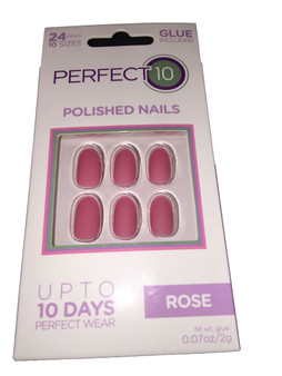 Perfect 10 Nails SS18 - Core Rose [4022663, LL_0127]