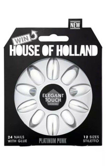 ET Elegant Touch House Of Holland VII Platinum Punk 4016847