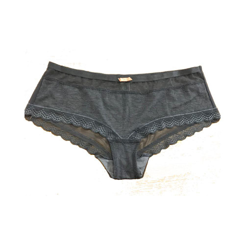 Ex M&S Brief Silver Grey Lace front Knickers
