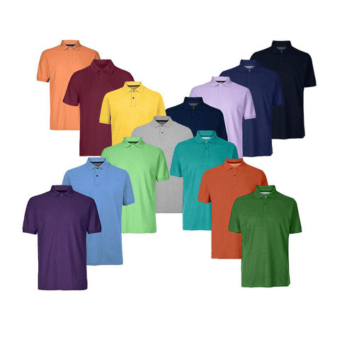 Ex M&S Fitted MENS COTTON PIQUE POLO SHIRT SHORT SLEEVED BRAND NEW