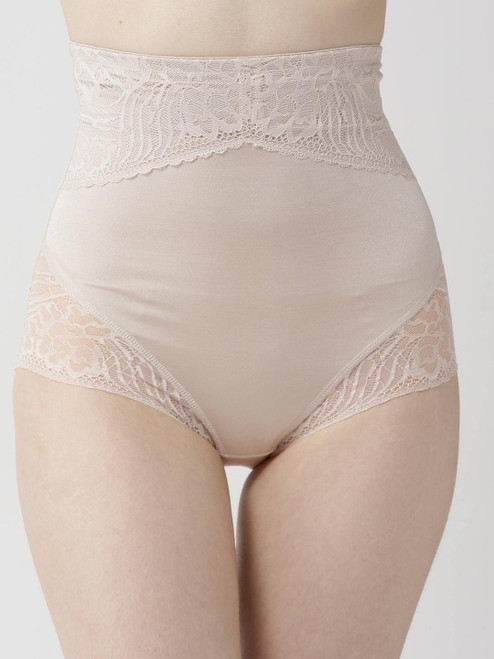 Ex M&S Shaping Waist Cincher Brief Lace Detail Brand New Shapewear