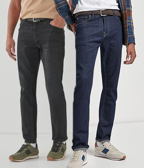 Ex Next Men's Jeans Slim Fit with Stretch Cotton Rich Brand New