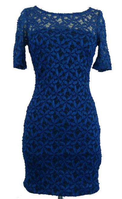Atmosphere Women's Dress Blue Floral Lace Party Evening Prom Bridesmaid ROA