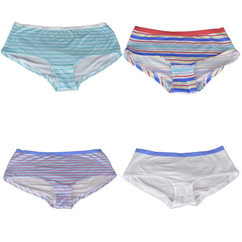 EX M&S Marks And Spencer 3 Pack No VPL Cotton Rich Boy Shorts Knickers Briefs