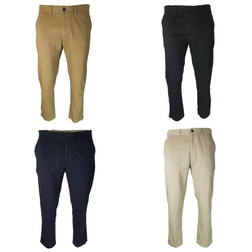 EX M&S Marks And Spencer Big & Tall Chinos Trousers With Active Waist