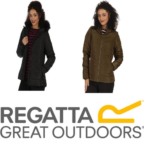 Regatta Womens/Ladies Wynne Thermoguard Warm Hooded Walking Jacket