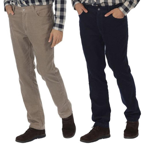 Regatta Mens Landford Coolweave Cotton Casual Walking Trousers