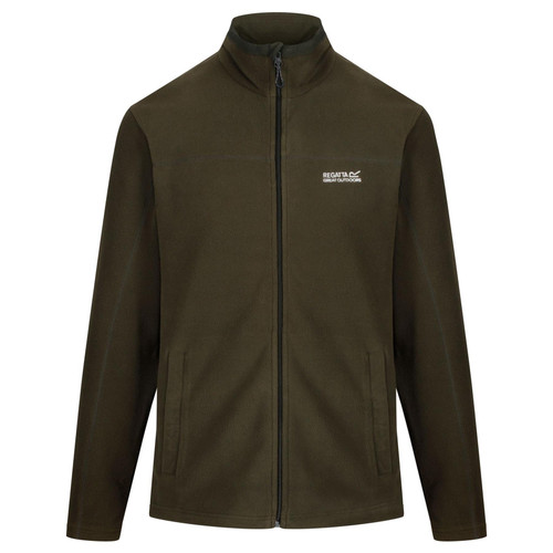 Men's Fairview Mid Weight Full-Zip Fleece Grape Leaf RRP £35