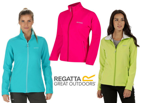 Regatta Womens/Ladies Connie III Lightweight Stretch Softshell Jacket
