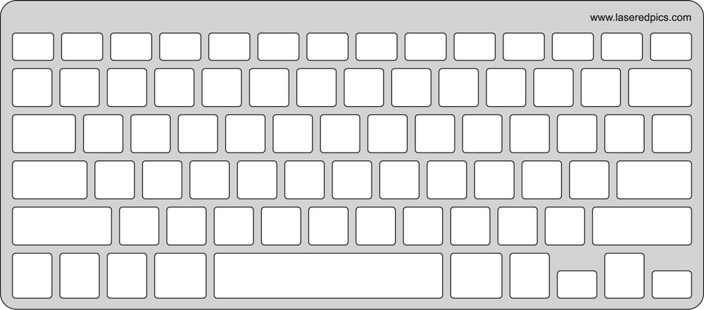 Keyguard for Apple Wireless Keyboard