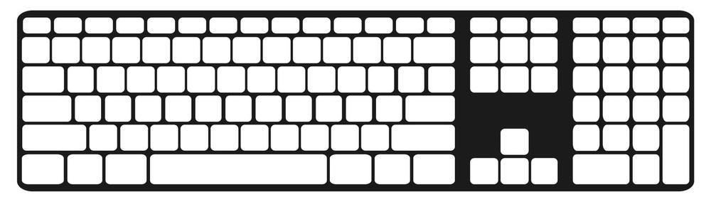Keyguard Layout - US English