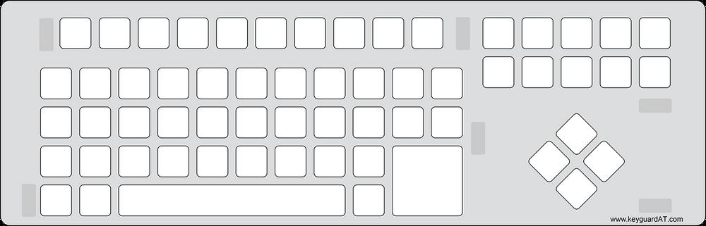 BigKeys LX Keyboard Keyguard (#578)