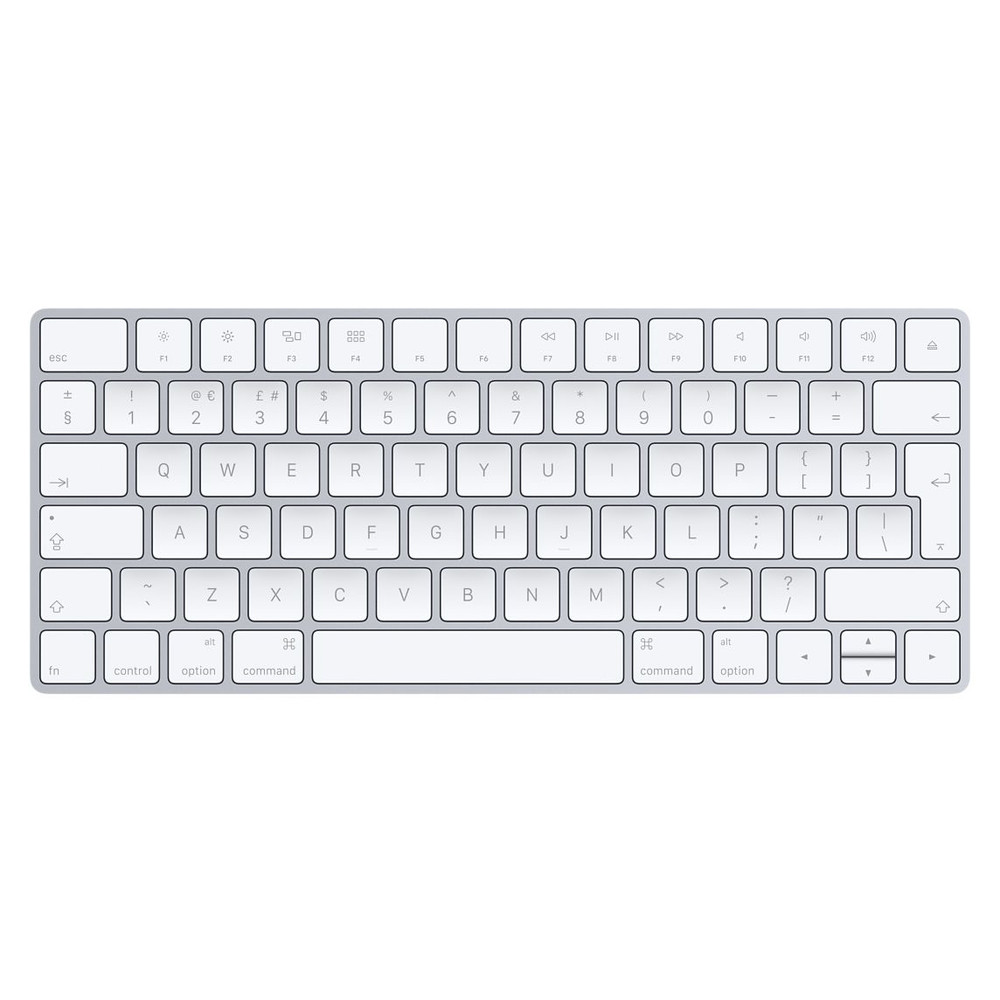 Standard British version fits the Apple Magic Keyboard - British English