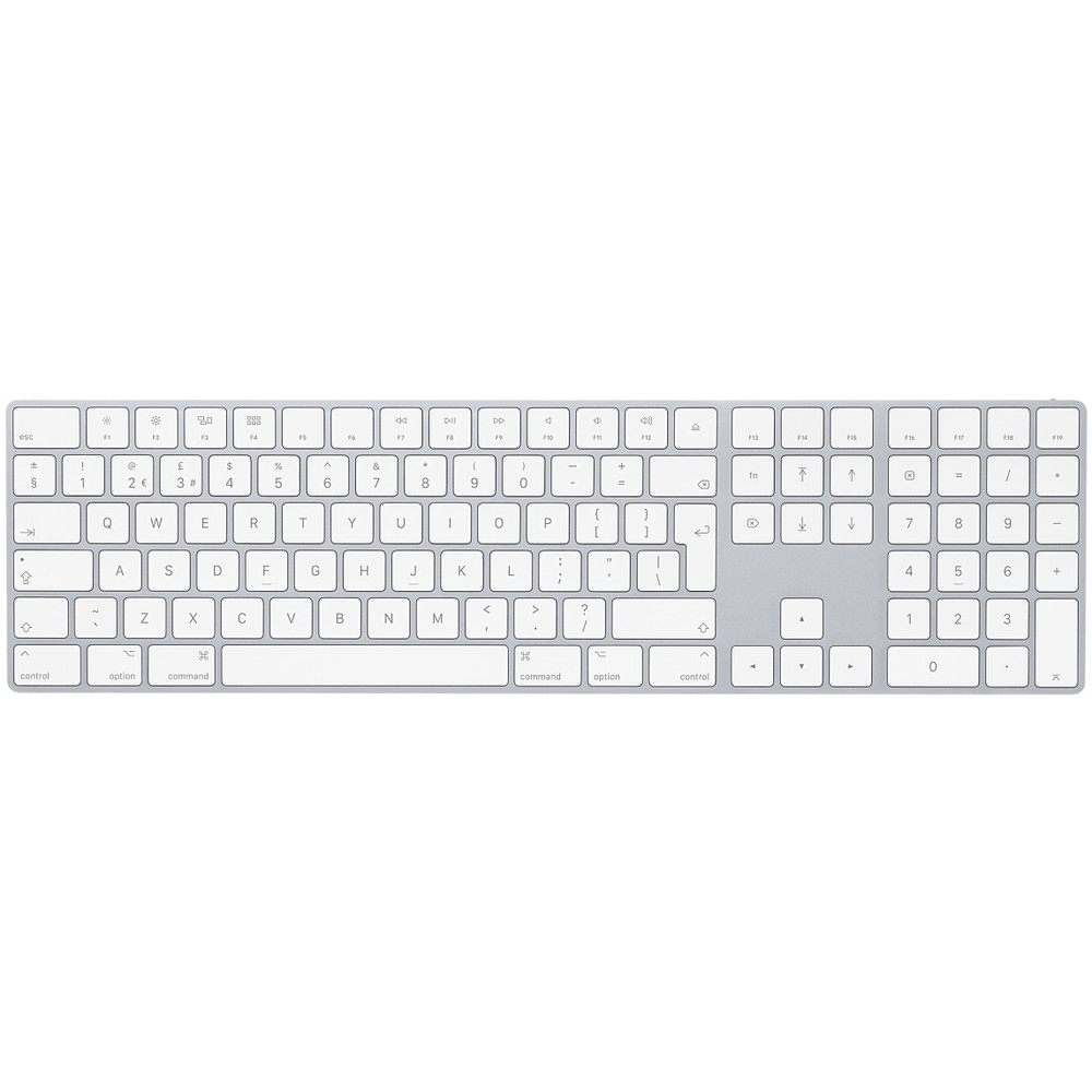 Keypad British version fits the Apple Magic Keyboard with Numeric Keypad - British English