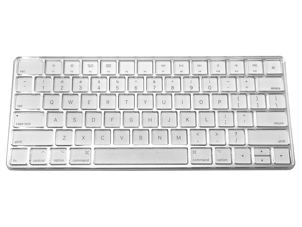 US English version on Apple Magic Keyboard