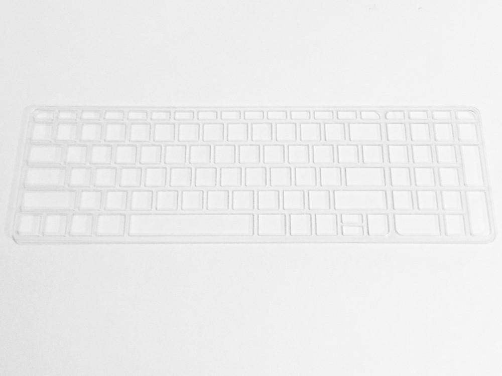 Keyguard in clear acrylic.