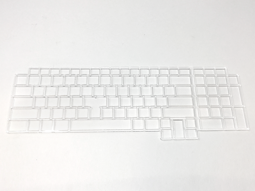 Keyguard for the Dell M6700 laptop.