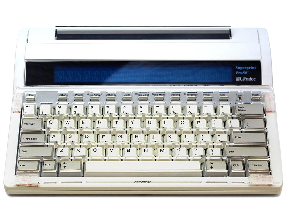 Ultratec Superprint Pro80 Keyguard