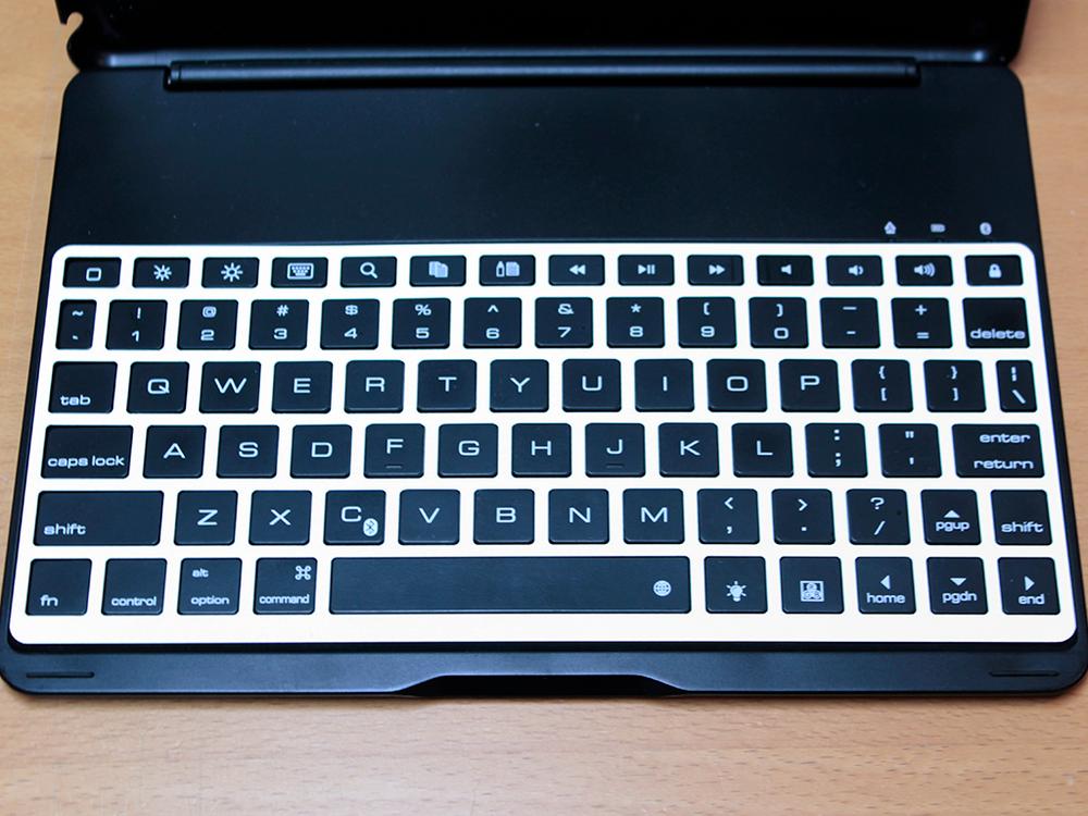 Keyguard on the iEGrow keyboard.