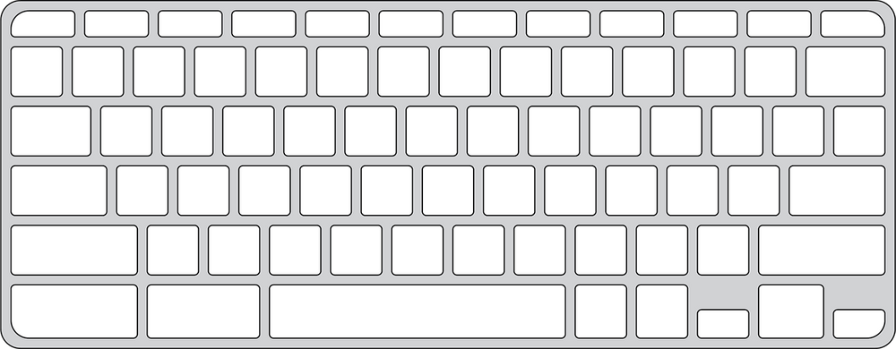 Keyguard for Lenovo 300e Chromebook.