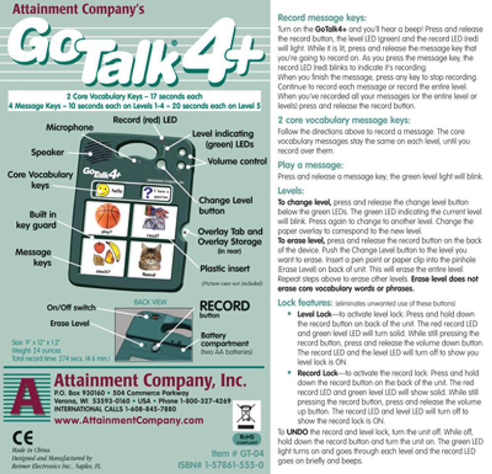 GoTalk 4+