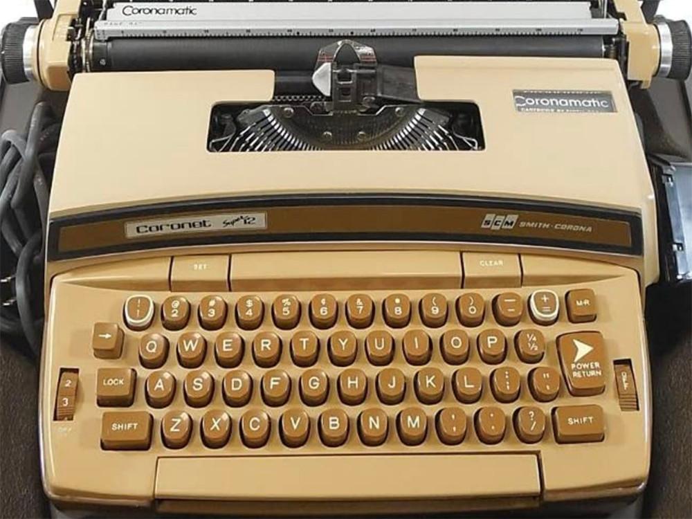 Fits the Smith-Corona Coronet Super 12 typewriter