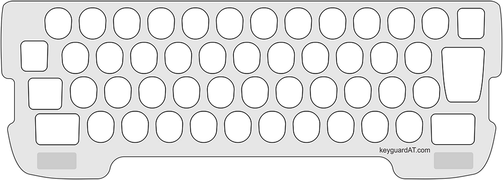 Keyguard for the Smith-Corona Coronet Super 12