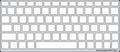 Keyguard for the iEGrow F8S keyboard.