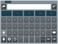 Grid for iPad Keyguard