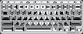 Keyguard for the Acer R 11 Chromebook.