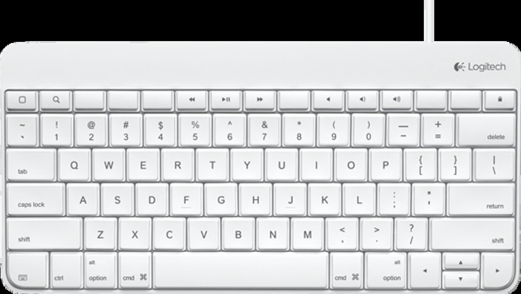 Logitech Wired Keyboard Keyguard