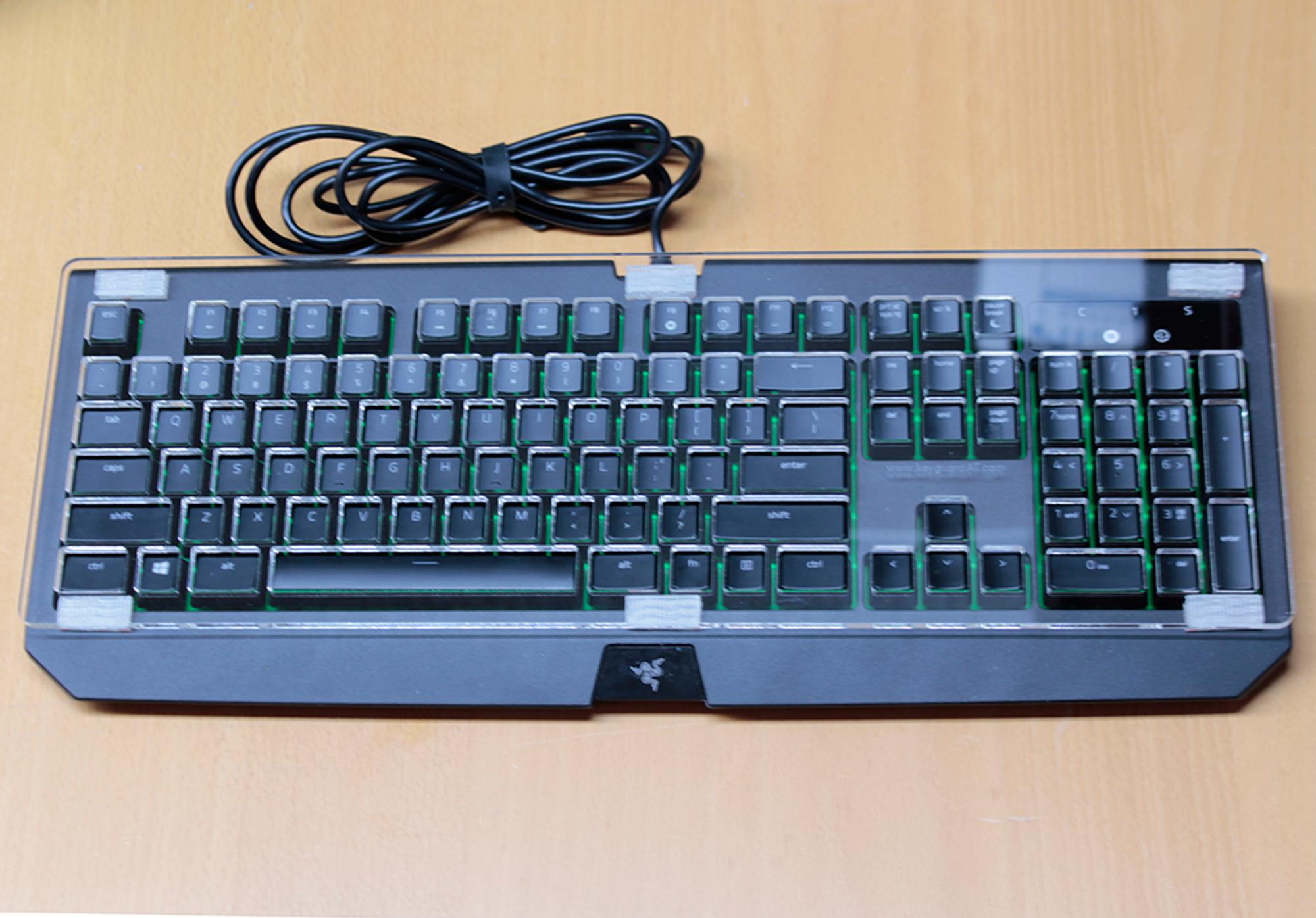 Razer BlackWidow Ultimate Keyboard Keyguard